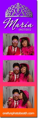 Maria's Quinceañera Photo Booth