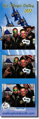 Blue Angel's Photo Booth Experience