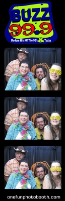Buzz 99 Radio Photo Booth