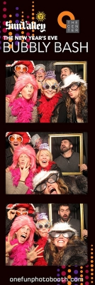 Bubbly Bash Photo Booth in Sun Valley Idaho
