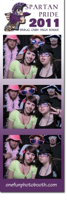 Spring Creek High School 2011 Graduation Photo Booth