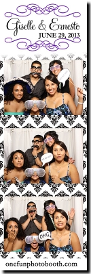 Giselle & Erenesto's Wedding  Photo Booth in Twin Falls Idaho