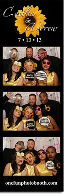 Caitlin & Andrew's Wedding Photo Booth Twin Falls Idaho