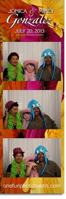 Jonica and Mikey's Wedding Photobooth Twin Falls