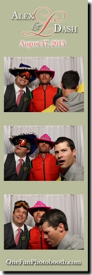 Alex & Dash's Wedding Photo Booth in Twin Falls Idaho