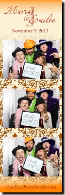 Marcus & Emily's Wedding Photo Booth in Twin Falls Idaho
