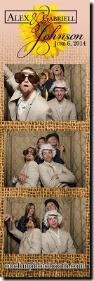 Alex & Gabriel's Wedding Photo Booth in Twin Falls Idaho