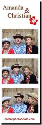 Amanda & Christian's Wedding Photo Booth in Sun Valley Idaho