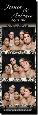 Jessica & Antonio's Wedding Photo Booth in Twin Falls Idaho
