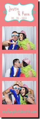 Justin & Kara's Wedding Photo Booth in Twin Falls Idaho