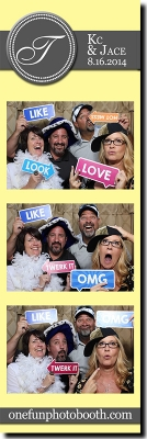 KC & Jace's Wedding Photo Booth in Twin Falls Idaho