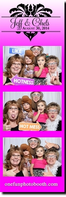 Jeff & Chels Wedding Photo Booth in Twin Falls Idaho