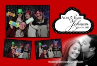 Alex & Gabi's Wedding Photo Booth in Sun Valley Idaho