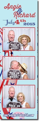 Angie & Richard's Wedding Photo Booth in Twin Falls Idaho