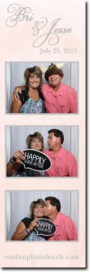 Bri & Jesse's Wedding Photo Booth in Twin Falls Idaho