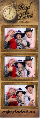 Rod & Lena's Wedding Photo Booth in Burley Idaho