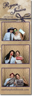 Ryan & Jessica's Wedding Photobooth in Burley