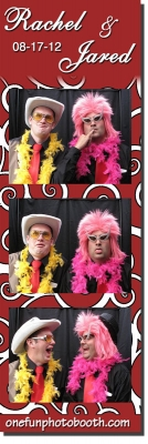 Rachel & Jerad's Wedding Photo Booth in Twin Falls Idaho