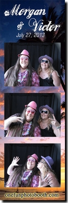 Morgan & Victor's Wedding  Photo Booth in Twin Falls Idaho