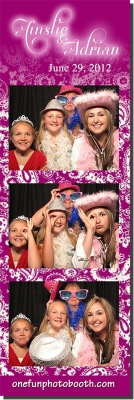 Ainslie & Adrian's Wedding Photo Booth in Twin Falls Idaho