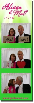 Alissa & Matt's Wedding Photo Booth in Twin Falls Idaho