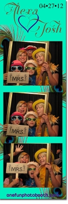 Alexa & Josh Wedding  Photo Booth in Twin Falls Idaho