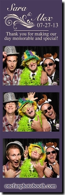 Sara & Alex's Wedding  Photo Booth in Twin Falls Idaho