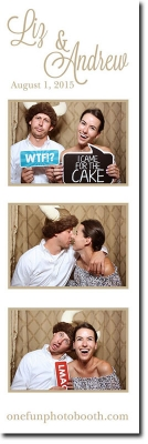 Liz and Andrew's Wedding  Photo Booth in Twin Falls Idaho