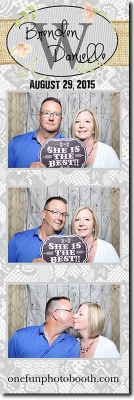 Breden and Danelle's Wedding Photo Booth in Twin Falls Idaho