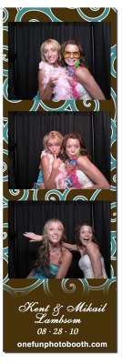 Kent & Mikial's Wedding Photo Booth in Pocatello