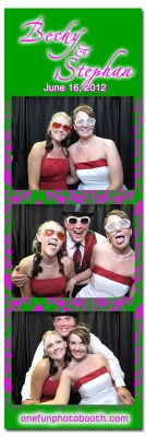 Becky & Stephan's Wedding Photo Booth in Twin Falls Idaho