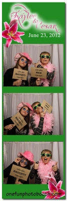Kaylee & Cesar's Wedding Photo Booth in Twin Falls Idaho