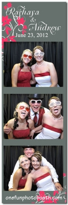 Rashaya & Andrew's Wedding Photo Booth in Jerome Idaho