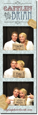 Caitlin & Ryan's Reception Photobooth in Twin Falls Idaho