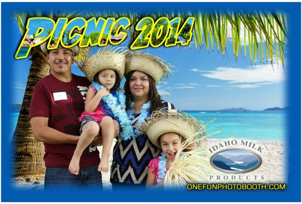 Idaho Milk Products Summer Picnic On The Beach