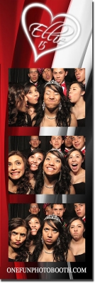 Ellie's Quinceañera Photo Booth in Twin Falls Idaho