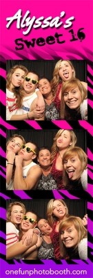 Alyssa's Sweet 16 Photo Booth in Twin Falls Idaho