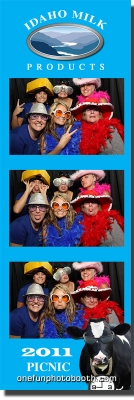 Idaho Milk Products Photo Booth