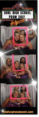 Buhl High School  2012 Prom Photo Booth in Buhl Idaho