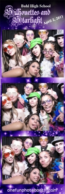 Buhl High School  2011 Prom Photo Booth in Buhl Idaho