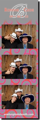 Ronnie & Cede's Wedding Photo Booth in Twin Falls Idaho