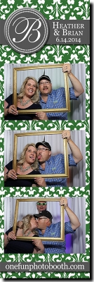 Heather & Brian's Wedding Photo Booth in Twin Falls Idaho