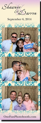 Shawnee & Darren's Wedding Photo Booth in Twin Falls Idaho