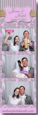 Jamie & Joseph's Wedding Photo Booth in Twin Falls Idaho