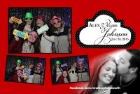 Alex & Gabi's Wedding Photo Booth in Sun Valley Idaho