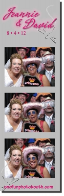Jeanie & David's Wedding Photo Booth in Elko Nevada