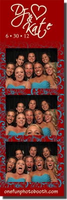 DJ & Kate's Wedding Photo Booth in Twin Falls Idaho