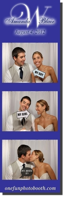 Amanda & Blair's Wedding Photo Booth in Twin Falls Idaho