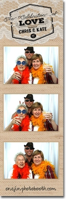 Chris and Kate's Wedding Photo Booth in Twin Falls Idaho