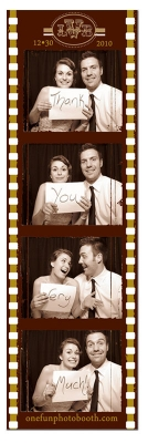 Vintage Wedding Photo Booth in Sun Valley Idaho